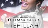 Ohemaa Mercy Takes Tehillah Experience To US, Europe