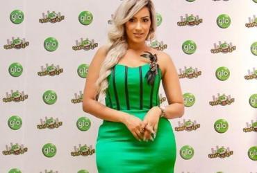 Ghanaian Actress, Juliet Ibrahim Slays in GLO Colour (photos)