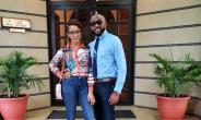 Actress, Adesua Etomi Admits She is Proud of her Hubby, Banky W