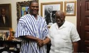 Wille Hor and President Akufo Addo