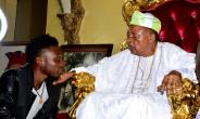 Alaafin of Oyo Receives Pencil Artist Alesh Akeem, Calls For Documentation of Cultural Property