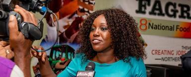Alberta Nana Akyaa Akosa, General Manager, FAGRO Secretariat