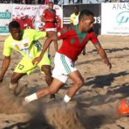 Afcon Beach soccer : The results of the first day!