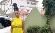 Nollywood Actress, Lilian Esoro Flaunts Killer Shape on Movie Set