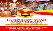 La kpee UK Homowo and Anniversary Programs Released