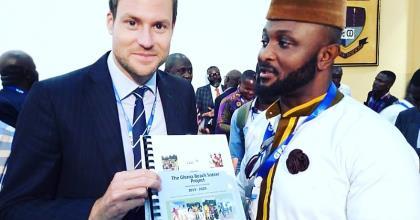 Ghana Beach Soccer presents historic