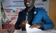 Dr. Nyarkotey delivering the key note address in Nigeria-Delta State