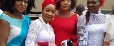 Actress, Eucharia Anunobi Celebrates Son one Year Remembrance (photos)