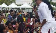 Joyce Blessing Thrills Fans at Maiden Ghanafest Event in Dallas, Texas
