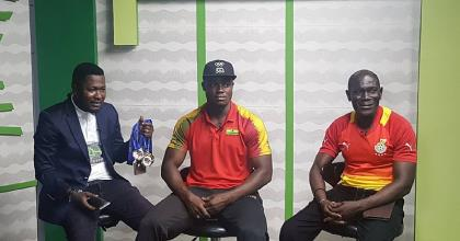 HSTV And Ultimate Sports Hosts African Weightlifting Champion Christian Amoah