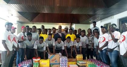 Black Queens Recieve Donation From GOC And Ghana Rugby