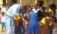Asuasu D/A Primary School Receives Support From Empowerment Aid (NGO)