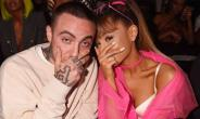 The late Mac Miller and Ariana Grande