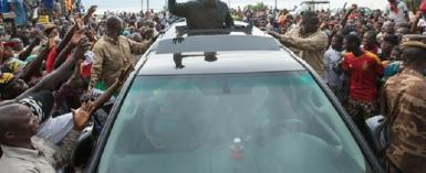 John Mahama's Central Region Tour Fake