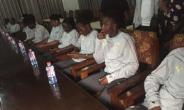 Brong-Ahafo Regional Minister Hon. Evans Opoku Bobie Host Black Queens At His Residence