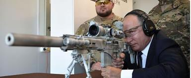Russian President Putin As A Sniper...Tested New Russian-Kalashnikov Gun