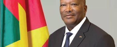 His Excellency, Roch Marc Christian Kaboré, President of Burkina Faso
