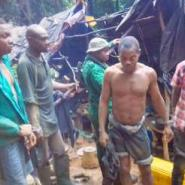 Forest Guards Arrest 8 Suspects Following Galamsey Activities In Atewa Forest