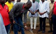 Hon. Sebastian Sandaare Cuts Sod For Construction Of A New Constituency Party Office