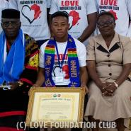 Ghanaian And Africa's Youngest Philanthropist Gets Ambassador For Peace Award