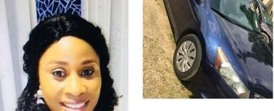 Nollywood Actress, Abidemi Mustapha Brand New Honda Accord