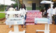 Amma Frimpomaa Dwumah, Native Of Odumasi Donates To Kwatire Polyclinic