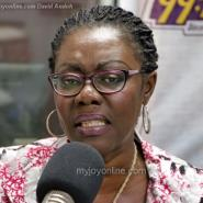 Communications Minister, Mrs. Ursula Owusu Ekuful