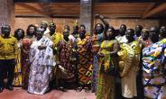 Chiefs And Queenmothers Of Nzemaland Storm Italy For Kundum Festival