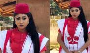 Nollywood Actress, Queeneth Hilbert, Steps out in Sexy Agbada