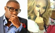 Tonto Dikeh Ignores Jim Iyke's Ice Bucket Challenge Nomination