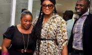 OMOTOLA AT KONGA CAR GIVEAWAY