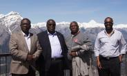 Ghana's High Commissioner to Canada, H.E Mr. Samuel Valis-Akyianu visits Calgary