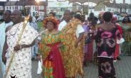 Gamei celebrate Homowo in London UK