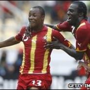 Dede Ayew's goal took the Stars through