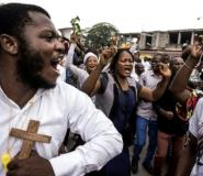 The Catholic church has thrown its weight behind demands for peaceful change in DR Congo. The church wields much influence through its role in education and social support.  By John WESSELS (AFP)