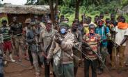The Central African Republic fell into crisis in 2012 as violence erupted from a mainly Muslim rebel insurgency known as the Selaka that sparked the creation of rival Christian militias known as the anti-Balaka, seen here.  By ALEXIS HUGUET (AFP/File)