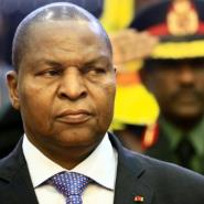 The accord, signed in Bangui on February 5, brought together President Faustin-Archange Touadera and the leaders of 14 armed groups who control most of the country's territory.  By ASHRAF SHAZLY (AFP)