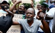 The government shut down the internet amid a wave of violent     anti-government demonstrations ignited by fuel price increases.  By Phill Magakoe (AFP/File)