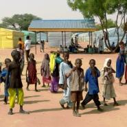 The Dalori camps are home to thousands of people displaced by Boko Haram violence around Maiduguri, northeast Nigeria.  By AMINU ABUBAKAR (AFP)