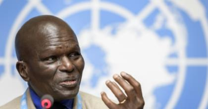 The head of the UN Commission of Inquiry on Burundi, Doudou Diene, said that it was