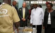 The inauguration of Uganda's first official gold refinery by President Yoweri Museveni raises fresh alarm over conflict minerals entering the country from DR Congo and South Sudan.  By GAEL GRILHOT (AFP)