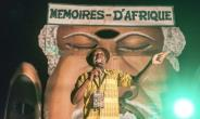 The power of the word: A professional storyteller in action at the 'Memories of Africa' festival.  By YANICK FOLLY (AFP)