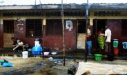 The West Point slum in Monrovia is home to an estimated 90,000 people -- poverty, crime, drug addiction, rape and sexual exploitation of women are rampant.  By DOMINIQUE FAGET (AFP)