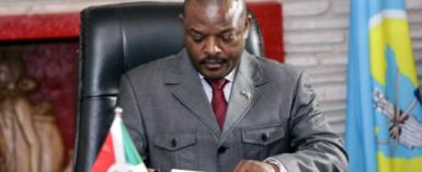 The UN has squarely blamed President Pierre Nkurunziza for fomenting hatred and violence.  By STR (AFP/File)
