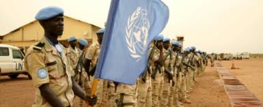 The UN's 15,000-strong MINUSMA force in Mali -- some Senagalese members are shown in Sevare in May -- has lost 104 peacekeepers since it began in 2013, including nine killed so far this year.  By SEBASTIEN RIEUSSEC (AFP/File)