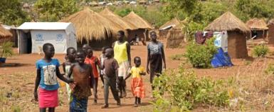 There are nearly a million South Sudanese refugees in Uganda, more than a quarter of whom are living in Bidibidi settlement, which is now the biggest refugee camp in the world.  By Isaac Kasamani (AFP/File)