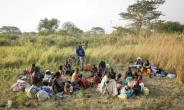 These refugees fled from fighting in South Sudan across the border into the Democratic Republic of Congo. The Congolese army has now stepped up arrests of South Sudanese it suspects of being rebel fighters.  By Simona Foltyn (AFP/File)