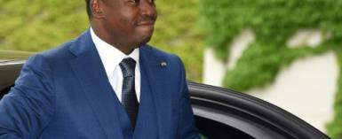 Togo President Faure Gnassingbe has been in power since winning the 2005 election.  By CHRISTOF STACHE (AFP/File)