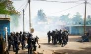 Twenty-five people were wounded in clashes with security forces during opposition protests in Mali's capital Bamako on June 3.  By Michele CATTANI (AFP)