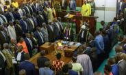 Ugandan lawmakers were divided on the new security measures, with some expressing skepticism and concerns about cost.  By Sumy Sadurni (AFP/File)